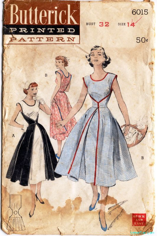Butterick 6015 front