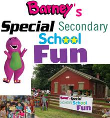 Barney's Special Secondary School Fun!