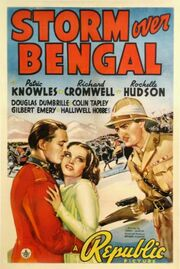 1938 - Storm Over Bengal Movie Poster