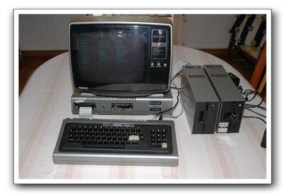 26-9202 U.K. TRS-80 Model 1 Monitor (220V) (front)