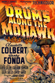 1939 - Drums Along the Mohawk Movie Poster
