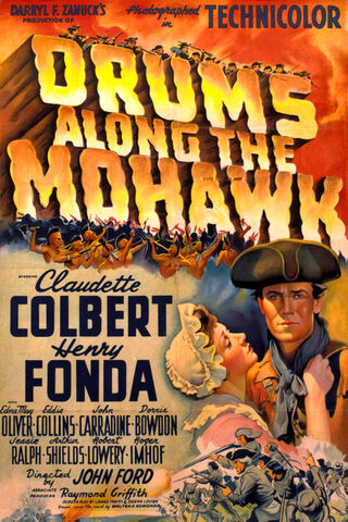 File:1939 - Drums Along the Mohawk Movie Poster.jpg
