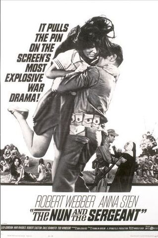 File:1962 - The Nun and the Sergeant Movie Poster.jpg