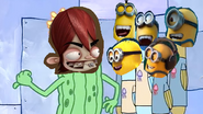 Kyle and minions about jokes