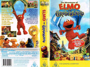 The Adventures Of Elmo In Grouchland Australian VHS