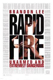 1992 - Rapid Fire Movie Poster