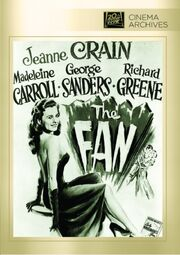 1949 - The Fan DVD Cover (2013 Fox Cinema Archives)