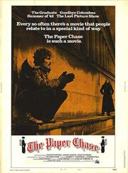 1973 - The Paper Chase Movie Poster