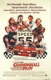 1981 - The Cannonball Run Movie Poster