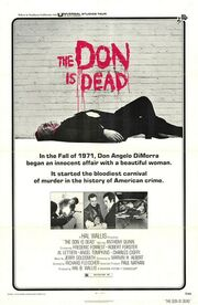 1973 - The Don is Dead Movie Poster