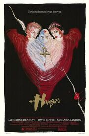 1983 - The Hunger Movie Poster