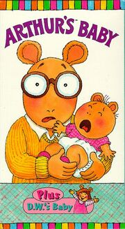 Arthur's Baby VHS Cover