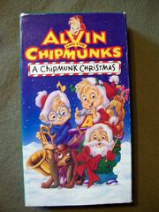 A Chipmunk Christmas VHS