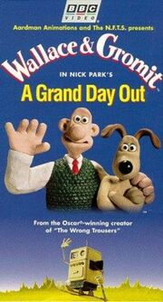 Wallace and Gromit A Grand Day Out VHS