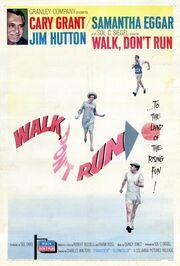 1966 - Walk Don't Run Movie Poster