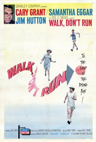 File:1966 - Walk Don't Run Movie Poster.jpg