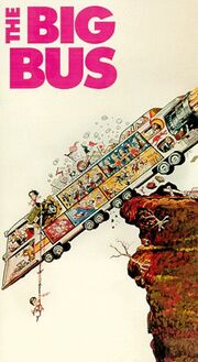 The Big Bus 1992 VHS (Front Cover)