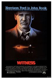 1985 - Witness Movie Poster 2