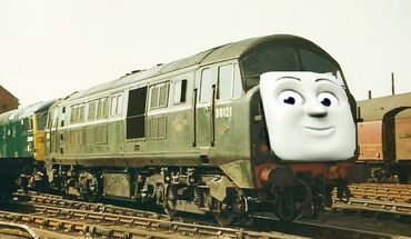 Gabriel the Big Diesel Engine