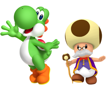 File:Yoshi and Toadsworth.PNG