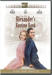 1938 - Alexander's Ragtime Band DVD Cover (2004 Fox Studio Classics)