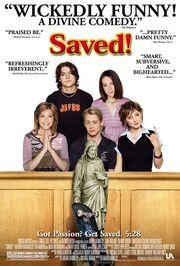Saved movie poster