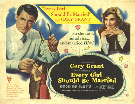 File:1948 - Every Girl Should Be Married Movie Poster.jpg