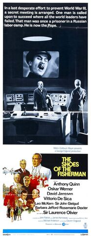 File:1968 - The Shoes of the Fisherman Movie Poster.jpg