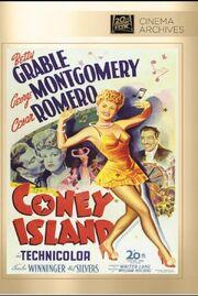 1943 - Coney Island DVD Cover (2013 Fox Cinema Archives)