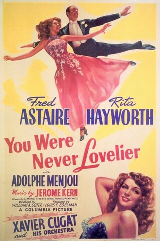 File:1942 - You Were Never Lovelier Movie Poster.jpg