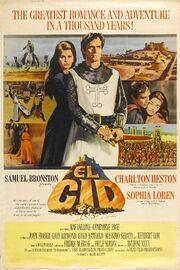 1961 - El Cid Movie Poster