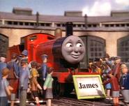 Jameswithnameboard