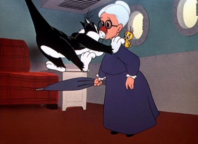 File:Sylvester flying into Granny.jpg