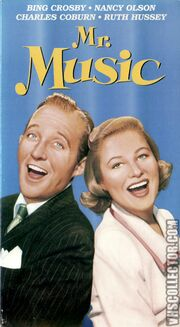 1950 - Mr Music Front VHS Cover (1992 Release)