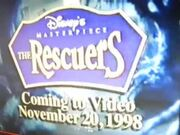 The Rescuers Preview