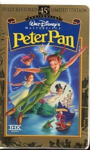 Peter Pan on VHS