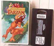 Tarzan 1999 VHS