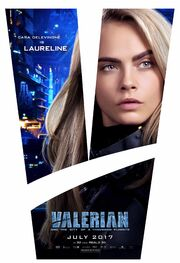 2017 - Valerian and the City of a Thousand Planets Movie Poster 1