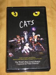 Andrew Lloyd Webbers Cats VHS
