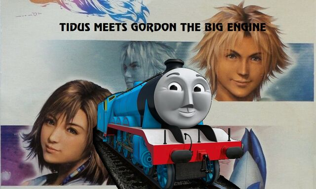 File:Tidus meets Gordon the Big Engine.jpg