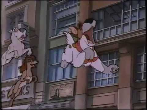 File:Dodger Rita and Einstein leaping in the air.jpeg