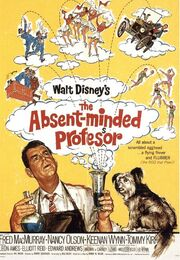 1961 - The Absent-Minded Professor Movie Poster