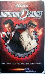 Inspector Gadget 1999 VHS
