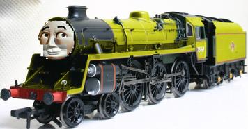 Milton the Vain Yellow Engine