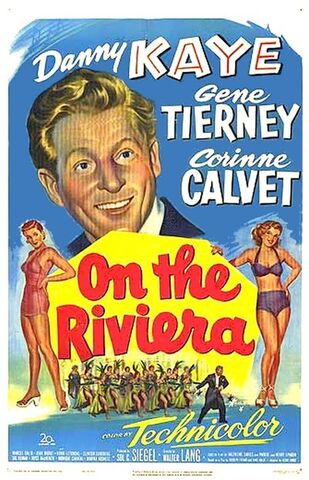 File:1951 - On the Riviera Movie Poster.jpg