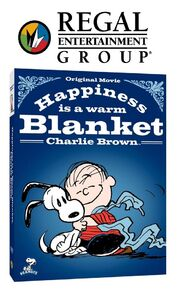 Happiness Is A Warm Blanket Charlie Brown Poster (Regal Entertainment Group)