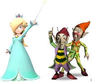 Rosalina, Sly and Gobbo