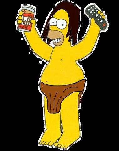 File:Homer Simpson As Tarzan.png