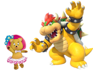 Tessie and Bowser