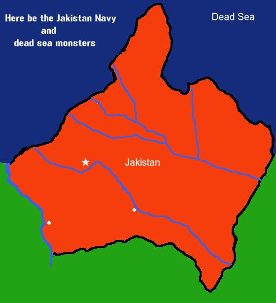 Jakistan map new